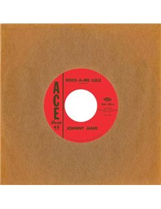 Johnny Jano / Rusty Kershaw - Rock-A-Me Lulu - 7' Single (2014)