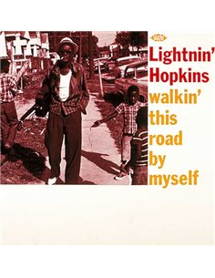 Lightnin' Hopkins - Walkin' This Road By Myself - 12' LP (1990)