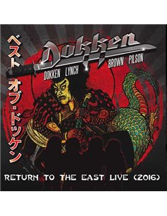 Dokken - Return To The East Live 2016 - 12' LP (2018)