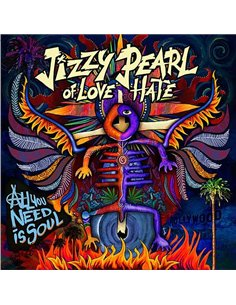 Jizzy Pearl Of Love/Hate - All You Need Is Soul - 12' LP (2018)