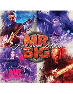 Mr Big - Live From Milan - 12' LP (2018)